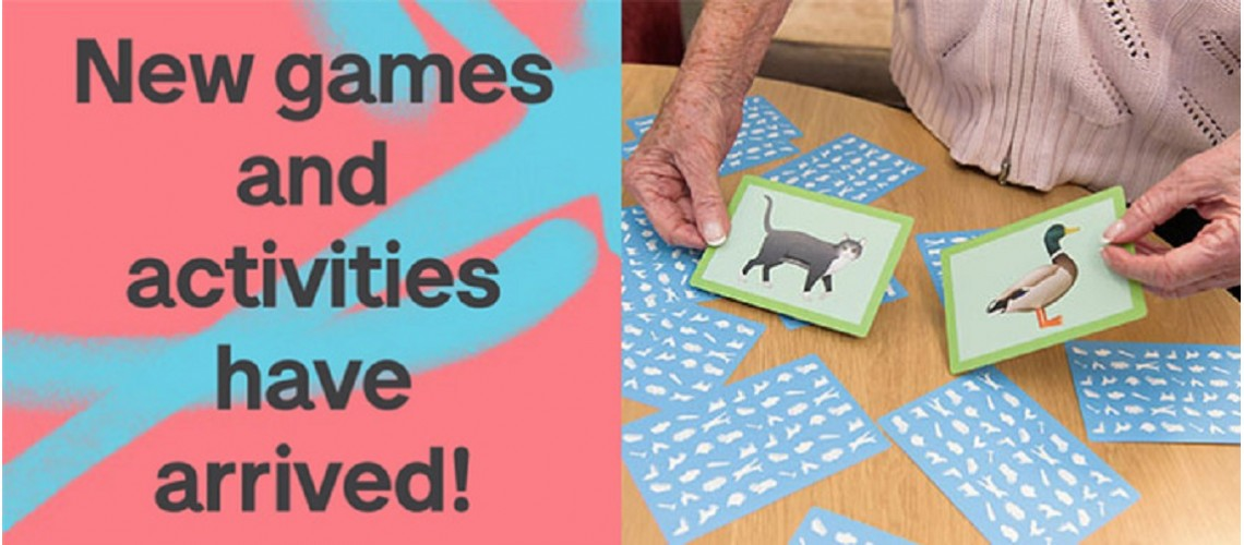 New Games and Activities