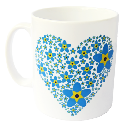 Dementia Friends Heart Mug