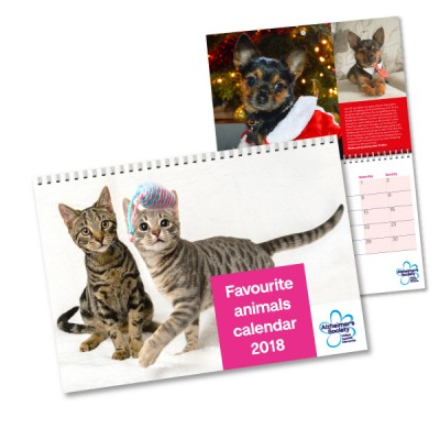 Favourite Animals Calendar 2018