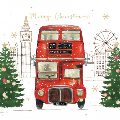 London Bus Cards, Pack of 10