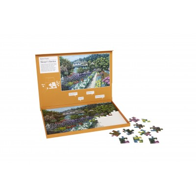 63 Piece Jigsaw - Monet's Garden