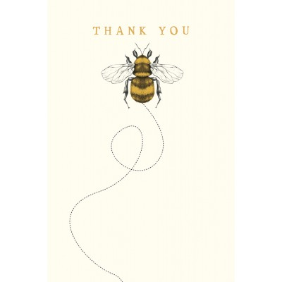 Thank You Cards Bee, Pack of 10