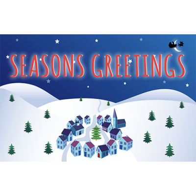 Seasons Greetings animated eCard