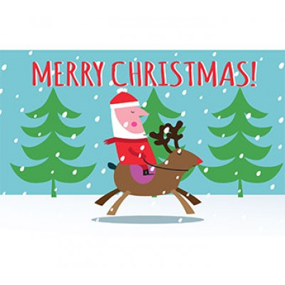 Santa animated eCard