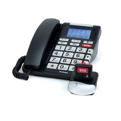 SOS phone with 2 way speech panic button