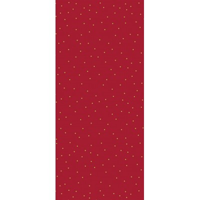Red and Gold Tissue Paper