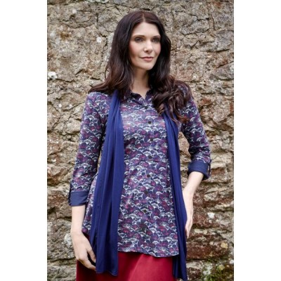 Plum, Lime or Ginko pattern - Imogen Jersey Shirt