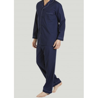 Maxwell Easy-Care Velcro Shirt and Pull On Bottoms PJ Set