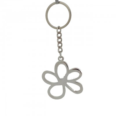 Silver Forget-Me-Not Keyring