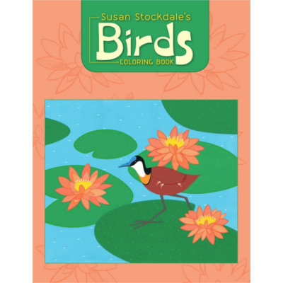 Birds colouring book