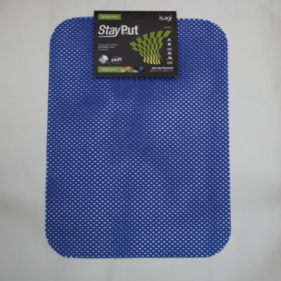 Non-slip tablemat - blue