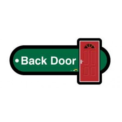 Back door key fob