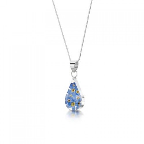 Forget me not teardrop pendant alzheimers society alzheimers forget me not teardrop pendant alzheimers society alzheimers society shop aloadofball Gallery